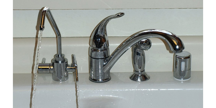 Under-Sink Universal Water Ionizer Adapter Faucet